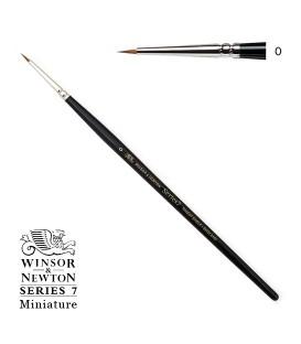 Pinceau Winsor & Newton série 7 Miniature poil Martre Kolinsky 0