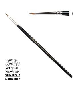 Pincel Winsor & Newton Series 7 Miniature Pelo de Marta Kolinsky 1