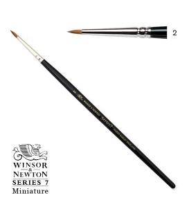 Pincel Winsor & Newton Series 7 Miniature Pelo de Marta Kolinsky 2