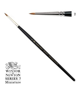 Pinzell Winsor & Newton Series 7 Miniature Pèl de Marta Kolinsky 2