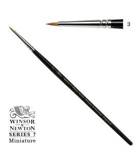 Pincel Winsor & Newton Series 7 Miniature Pelo de Marta Kolinsky 3