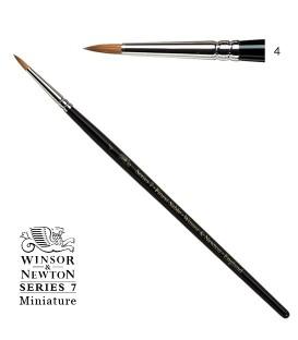 Pincel Winsor & Newton Series 7 Miniature Pelo de Marta Kolinsky 4
