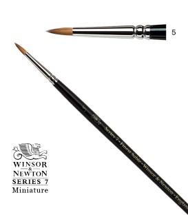 Pincel Winsor & Newton Series 7 Miniature Pelo de Marta Kolinsky 5
