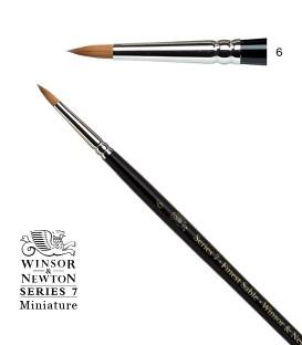 Pincel Winsor & Newton Series 7 Miniature Pelo de Marta Kolinsky 6