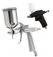 airbrushing spray guns