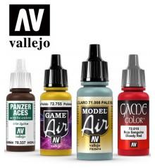 scale models paints Vallejo