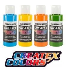 couleurs transparentes createx