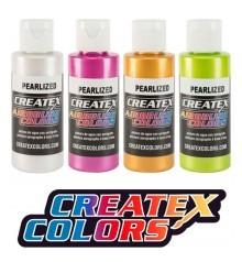 couleurs perlees createx