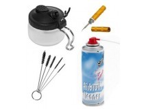 cleaning accessories for airbrush