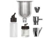 frascos e adaptadores