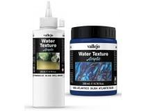 texturas água