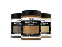 texturas de arena y tierra