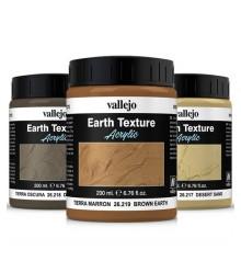 texture di sabbia e terra