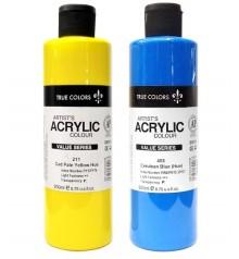 peinture acrylique True Colors 250 ml.