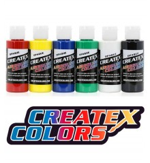 createx airbrushing colors sets