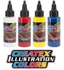 illustration airbrushing paints