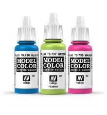 colors fluorescents