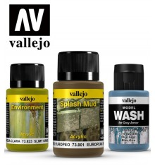 Vallejo weathering