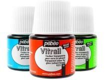 pintura vidro Pebeo Vitrail