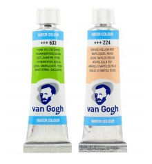 aquarelle tube Van Gogh