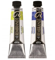 acrylic paint Rembrant