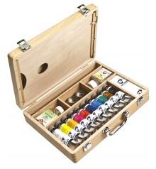 scatole pittura olio