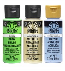 acrylic paint FolkArt