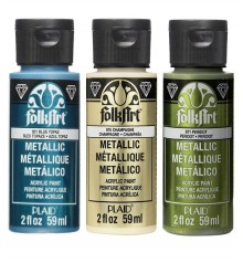 Peinture acrylique FolkArt Metal