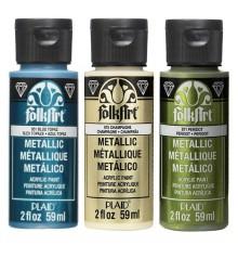 Pintura acrilica FolkArt Metal