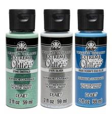 Pittura acrilica FolkArt Glitter