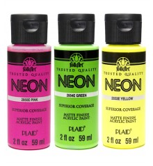 Acrylic paint FolkArt Neon