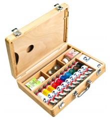 scatole pittura acrilica