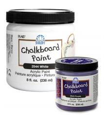 acrylic paint FolkArt Chalkboard