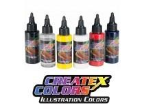 illustration airbrushing colors