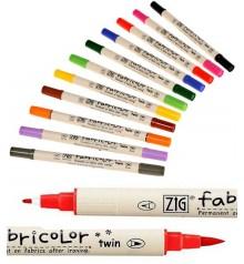marcador textil Fabricolor Twin