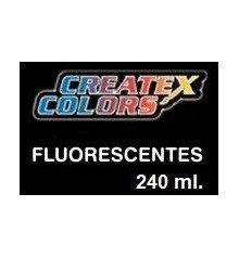 pintures fluorescents createx 240 ml.
