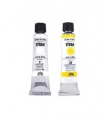 peinture huile Titan 20 ml.