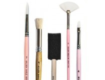 textile paint brushes