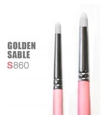 Pincel sintetico duro FABRIC ROUND-Golden Sable