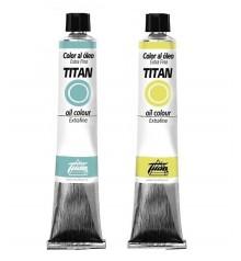 pittura olio Titan 60 ml.