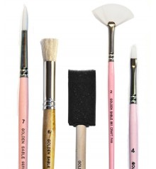 handcraft & fabric brushes
