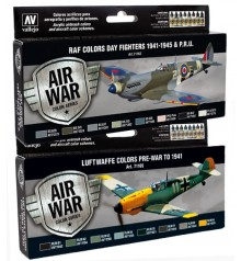 Model Air sets Air War Color Series