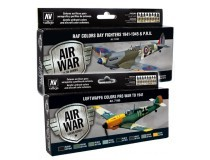 sets Model Air War Color Series