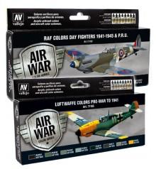 sets Model Air War Color Series