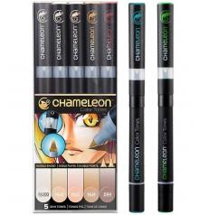 Chameleon marker pens