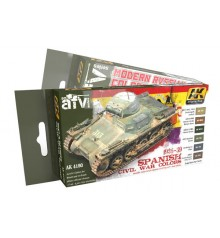 AFV series precise colours sets