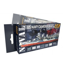 Naval series precise colours sets