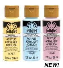 NEW! Peinture acrylique FolkArt 59 ml.