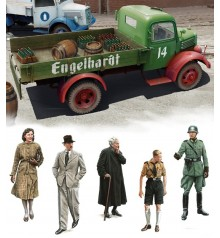 miniatures series civil 1/35