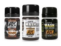 AK washes